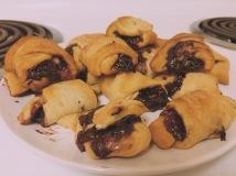 Chocolate Raspberry Crescent Rolls